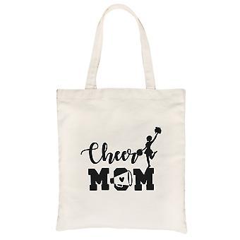 Cheer Mom Canvas Einkaufstasche Eco-Friendly Beste Mutter's Tag Geschenkideen