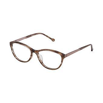 Ladies'Spectacle frame Loewe VLWA04M5309BK