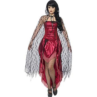 Smiffy van Gothic Lace Cape