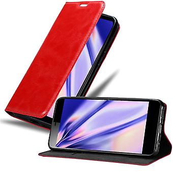 Cadorabo kotelo Sony Xperia L3 tapauksessa kansi - Puhelinkotelo magneettilukko, seistä toiminto ja korttilokero - case cover suojakotelo tapauksessa kirja taitto tyyli
