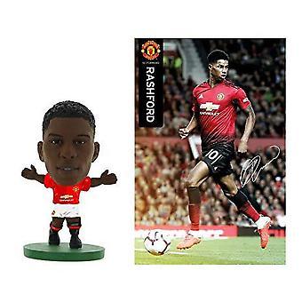 Manchester United FC Marcus Rashford 2019 Soccerstarz model