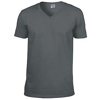 Gildan Miesten pehmeä tyylinen Kullanmuru lyhythihainen t-paita
