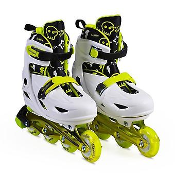 Byox Inliner Kids, Skates 5 in 1 Evolution Size M 34-37 ABEC-5, 608ZB