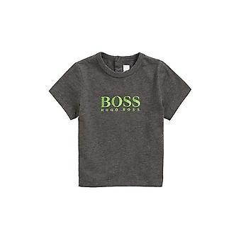 Hugo meninos chefe Hugo chefe infantes cinza t-shirt