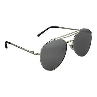 Sunglasses UV 400 Aviator Silver Zwart1987_4