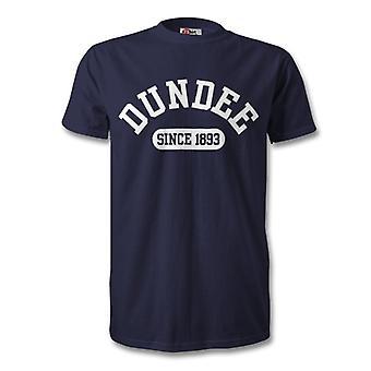 Dundee 1893 Established Football T-Shirt