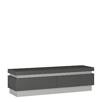 Brooklyn Dusk 2 Drawer Tv Cabinet (inc. Led Lighting)