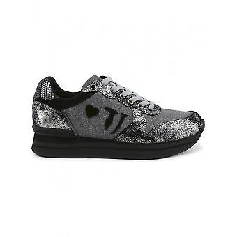 Trussardi - Shoes - Sneakers - 79A00245_E285_GUNMETAL - Ladies - dimgray,black - 40
