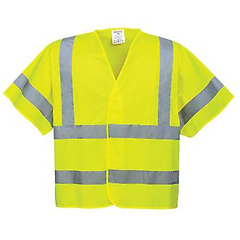Portwest hi-vis short sleeved vest c471