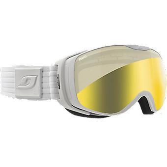 Julbo Masque de ski Luna Blanc Flash Gold