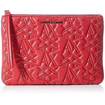 ARMANI EXCHANGE 3d Logo Pouch - Red Women's Wallet (Red) 10x10x10 cm (W x H L)