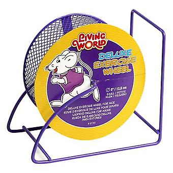 Living World Metal exercise wheel (Small pets , Cage Accessories , Exercise Wheels)