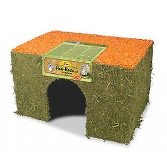 Jr Farm  Hay house carrot large (Small pets , Cage Accessories , Maisonnettes et Tunnels)