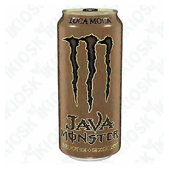 Monster Java Loca Moca-( 444 Ml X 12 Cans )
