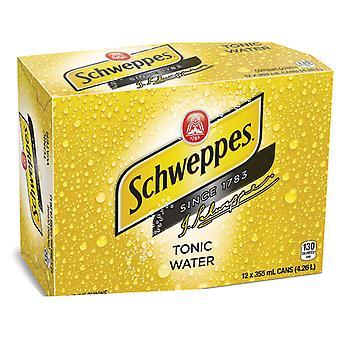 Schweppes Tonic Vatten-( 355 Ml X 12 Burkar )