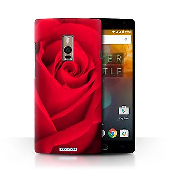 STUFF4 Case/Cover for OnePlus 2/Two/Red/Rose