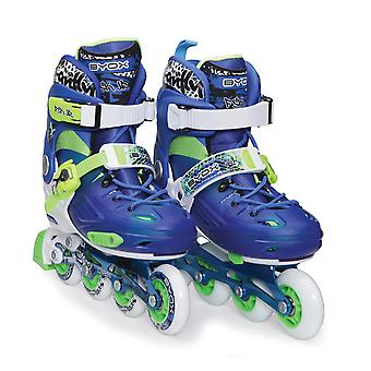 Byox Inliner Children JR1 blue versch. Sizes ABEC-5 Bearing PU, brake, adjustable