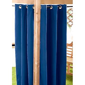 Blau 140 x 300cm Outdoor Vorhang Eyelet Panel Garten Dekor Drape Patio Shade