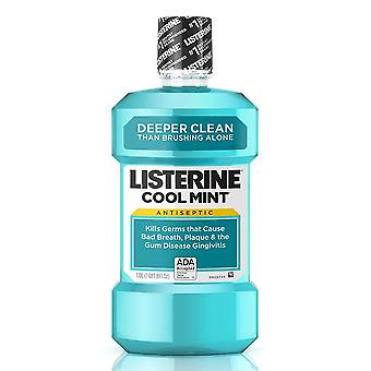 Listerine ultraclean antiseptic mouthwash, cool mint, 500 ml