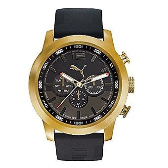 PUMA men's PU104271001 chronograph Quartz Watch Silicone band
