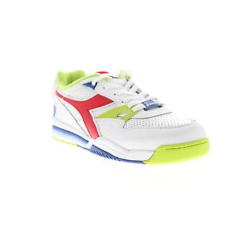 Diadora Rebound Ace  Mens White Leather Low Top Sneakers Shoes