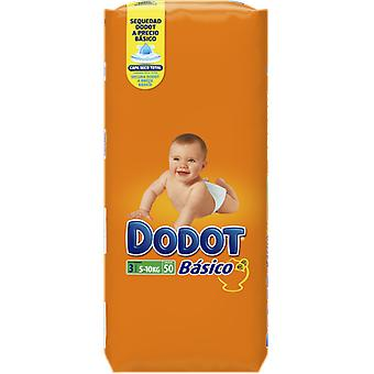 Dodot Basic Size 3 with 50 Units (Baby & Toddler , Diapering , Diapers)
