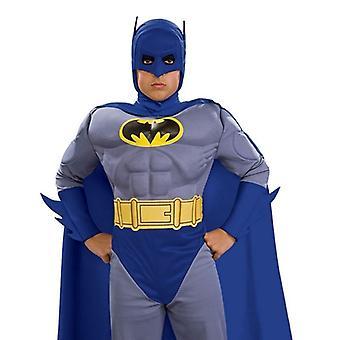 デラックス筋胸部バットマン。サイズ: 小