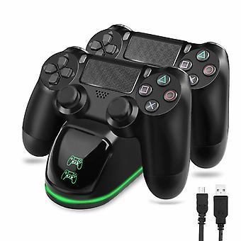 Doppelladestation für zwei Steuerungen - PS4/PS4 Slim/PS4 Pro