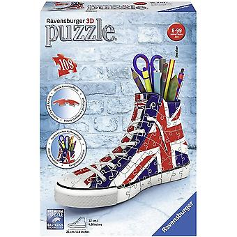 Ravensburger Union Jack Flag 3D Jig Saw Puzzle