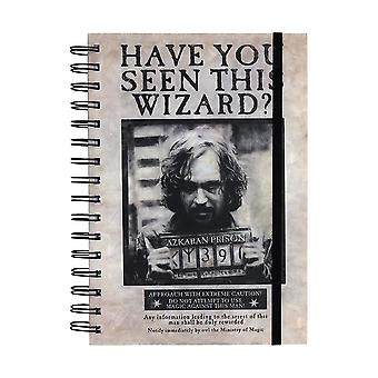Harry Potter, notepad A5-Sirius Black
