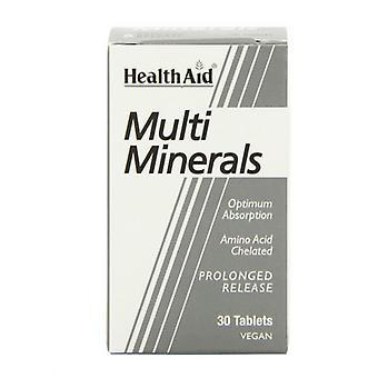 HealthAid Multi Minerals Depottabletit 30 (801280)