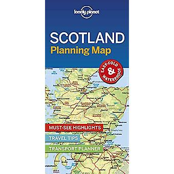 Lonely Planet Scotland Planning Map by Lonely Planet - 9781788686051