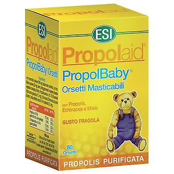 Trepatdiet Propolaid Propolbaby 80 Chewable Bears