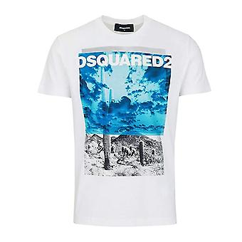 DSQUARED2 Dsquared2 | Gd0676 trykt T-skjorte