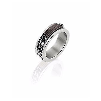 Zoppini RVS ketting ring