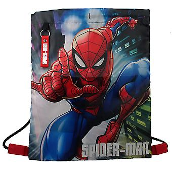 Marvel Spiderman Action Pose Design Boys Trainer Tasche