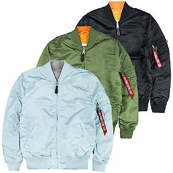 Alpha industries men's bomber jacket MA-1 VFLW USAF