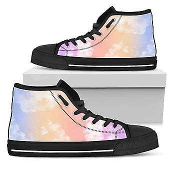 High Top Shoes | Cloudy (Black)