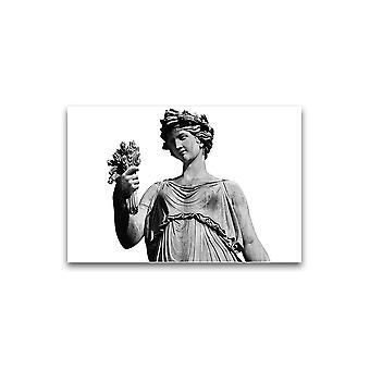 القديمة ملصق تمثال الكلاسيكية الجديدة -صورة من قبل Shutterstock