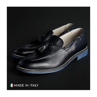SB 3012 - shoes - moccasins - 1001_CRUST_BLU - men - navy - EU 43