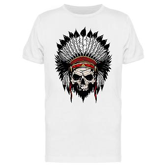 American Indian Skull Tee Men's -Image by Shutterstock