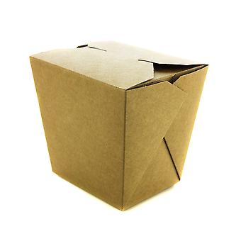 Vegware Compostable Kraft Noodle Takeaway Boxes 32oz