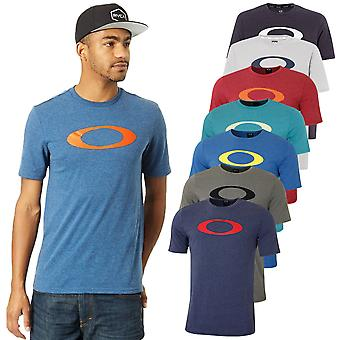 Oakley Mens 2021 O-Bold Ellipse Ohydrolix Moisture Wicking Camiseta