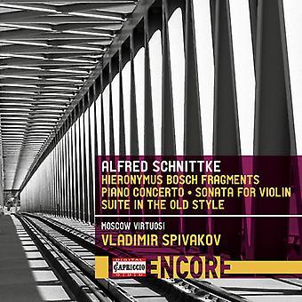 Schnittke / Spivakov / Ghindin - Hyronimus Bosch Fragments [CD] USA import