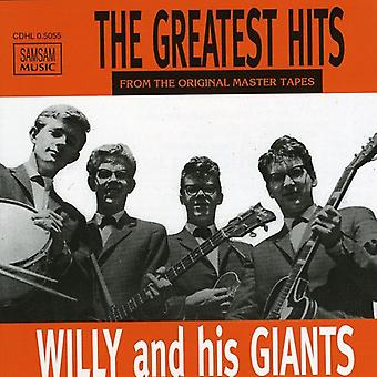 Willy & His Giants - Greatest Hits [CD] USA import