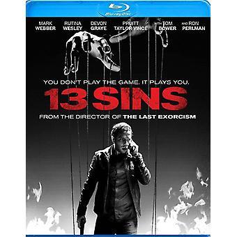 13 Sins [BLU-RAY] USA import