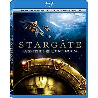 Stargate - Ark of Truth/Continuum [BLU-RAY] USA import