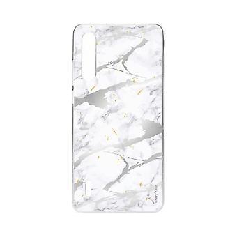 Casco para Xiaomi Mi 9 Lite Efecto mármol gris suave