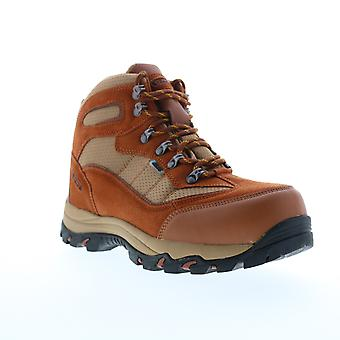Hi-Tec Skamania  Mens Brown Suede Lace Up Hiking Boots Shoes