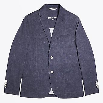 Circolo 1901  - Cotton Stretch Blazer - Navy Blue